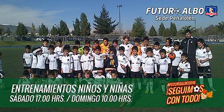 Con un clima otoñal, nueva jornada de fútbol en Futuro Albo