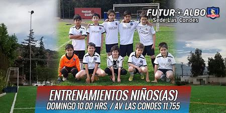 Programas de entrenamiento de fútbol infantil en Las Condes