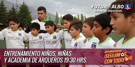 Selección Chilena de fútbol a 4tos de final de la Copa América y #FuturoAlbo a entrenar!