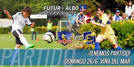 Domingo 26/06, partido amistoso ¡Futuro Albo v/s Everton en Viña del Mar!