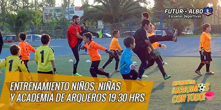 ¡Comienza noviembre y seguimos con el mejor fútbol infantil!