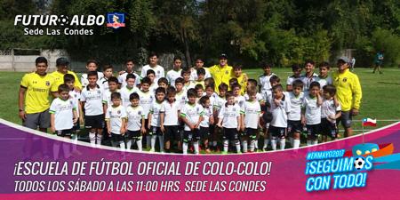 Futuroalbo, sede Las Condes: Todos los sábados desde las 11.00 hrs.
