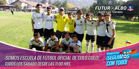 Sábado de fútbol infantil en Sede Las Condes
