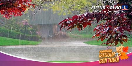 Entrenamientos suspendidos por lluvias