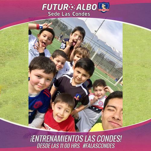 Sábado de fútbol en sede Las Condes