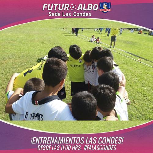 Todos los sábados en el Estadio Las Condes!