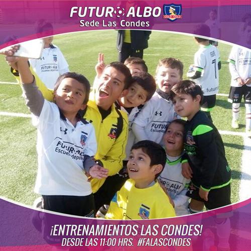 ¡Fútbol, alegría y diversión! en Las Condes