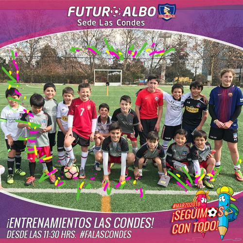 Sede Las Condes: Lindo día para jugar al fútbol!