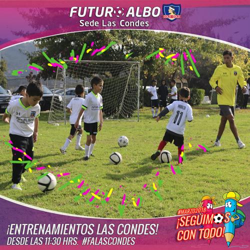 Sede Las Condes: nuevo sábado de el mejor fútbol infantil!