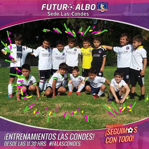 Sede Las Condes: Sábado de fútbol infantil