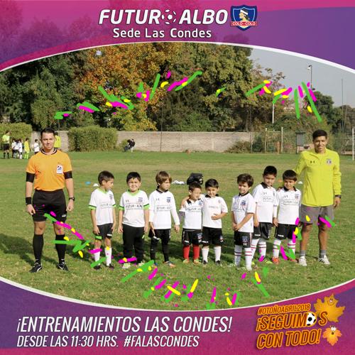 Sede Las Condes: Las penas se pasan con fútbol