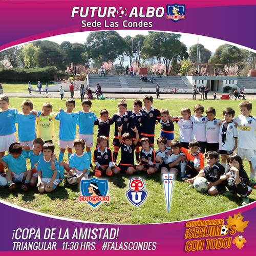 Sede Las Condes: Tenemos Triangular Copa de La Amistad