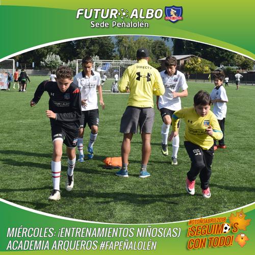 Sede Peñalolén: listos para correr y jugar al fútbol?
