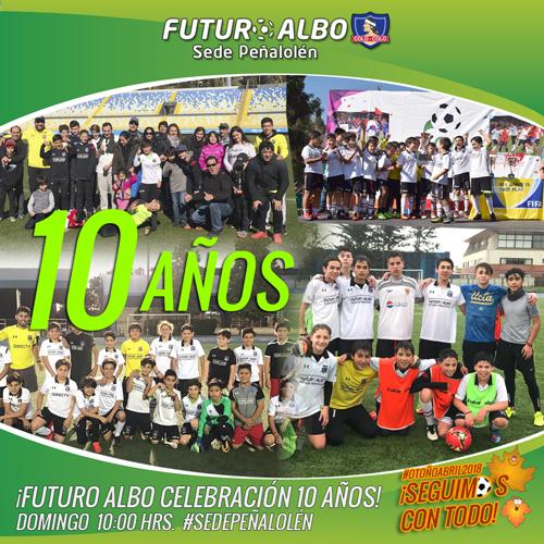 Futuro Albo Aniversario 10 años!